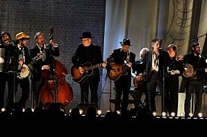 Mumford & Sons, The Avett Brothers, Bob Dylan at The 53rd Annual GRAMMY Awards - Show