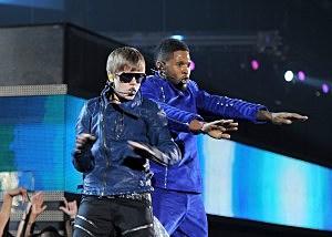 Usher & Justin Biebet