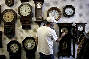 Businesses Prepare For Daylight Savings Time
