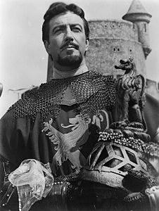 Robert Taylor as Lancelot