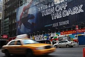 Spider-Man Turn Off the Dark billboard