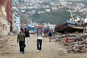 Major Destruction After Massive 8.8 Earthquake