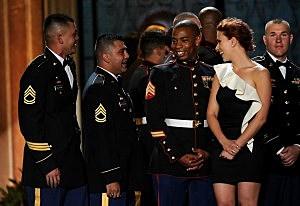 """Scarlett Johansson at Spike TV's 5th Annual 2011 """"Guys Choice"""" Awards Show"""