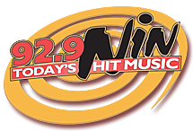 92.9 NIN Today's Hit Music