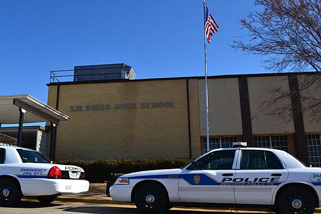 Wichita Falls Police at Rider High School