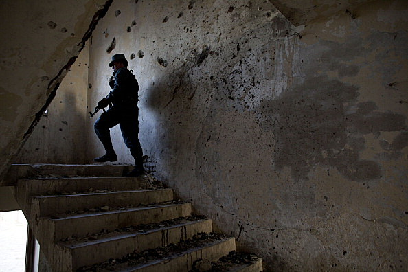 Afghan Police Secure Locations In Kandahar