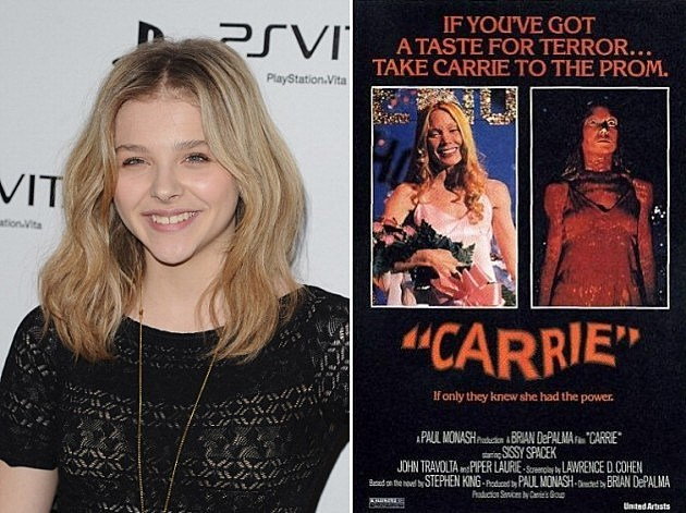Carrie Moretz Offered Lead Role In Carrie Remake