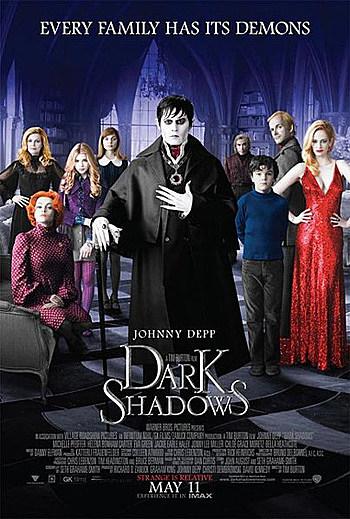 Dark Shadows 2012 Poster