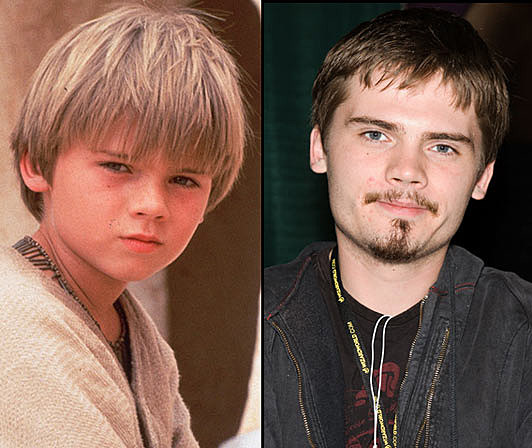 Jake Lloyd, then and now