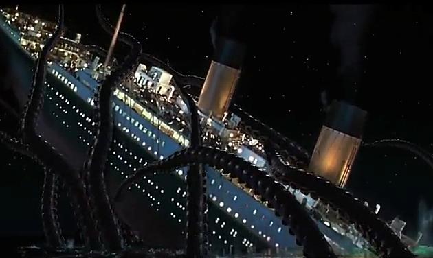 Titanic Super 3D Video