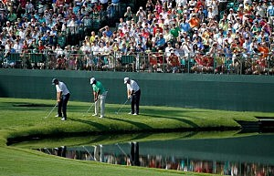 The Masters, at Augusta National