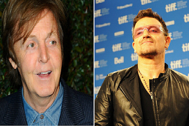 Paul McCartney/Bono
