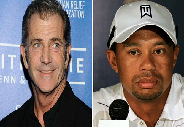 Mel Gibson and Tiger Woods are Hated
