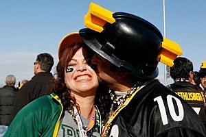 Football kiss