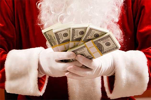 Santa-With-Cash