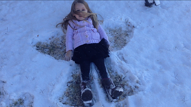 Leila snow angel