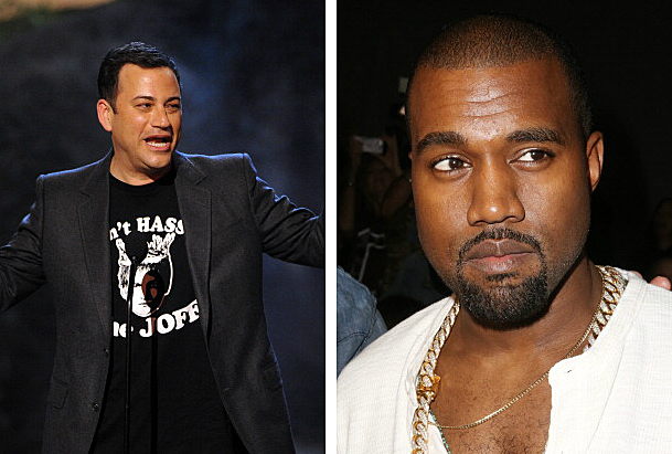 Kimmel and West feuding
