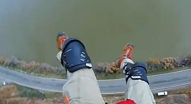 BASE jump goes wrong