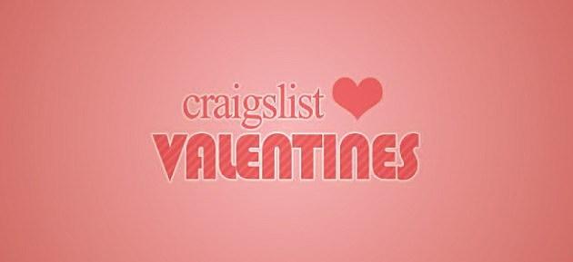 Craigslist Valentines