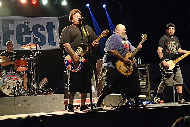 Bowling For Soup perform at FallsFest 2015 in Wichita Falls, Texas