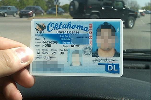 Class d oklahoma license