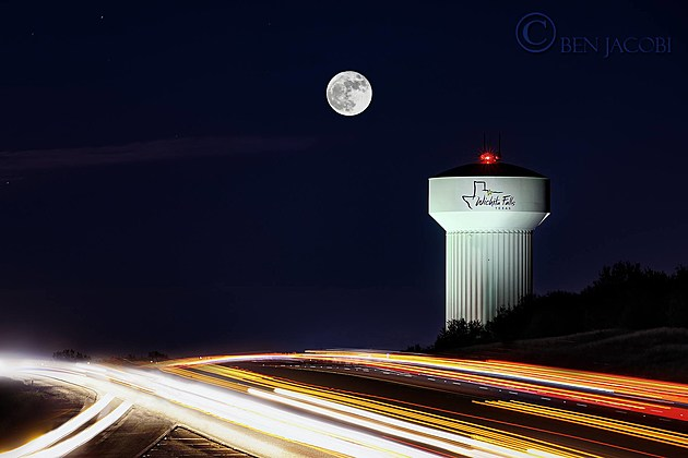 Wichita Falls Supermoon