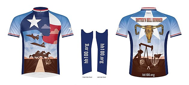 Hotter'N Hell 100 2017 Ride Jersey