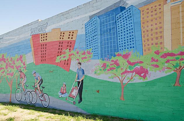Ralph Stearns Hotter'n Hell  Murals Wichita Falls