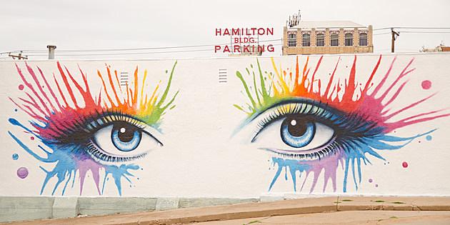 Ralph Stearns Cleopatra Eyes Mural Wichita Falls