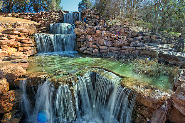 Wichita Falls Waterfall