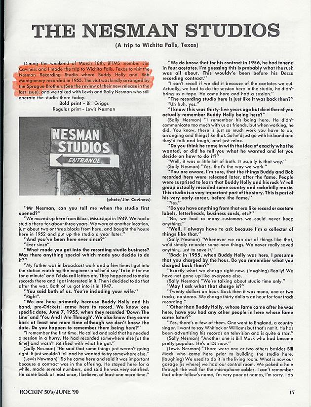 Nesman Studios Wichita Falls