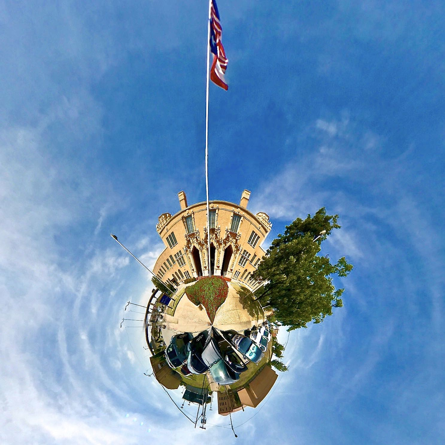 Memorial Auditorium - Tiny Planet