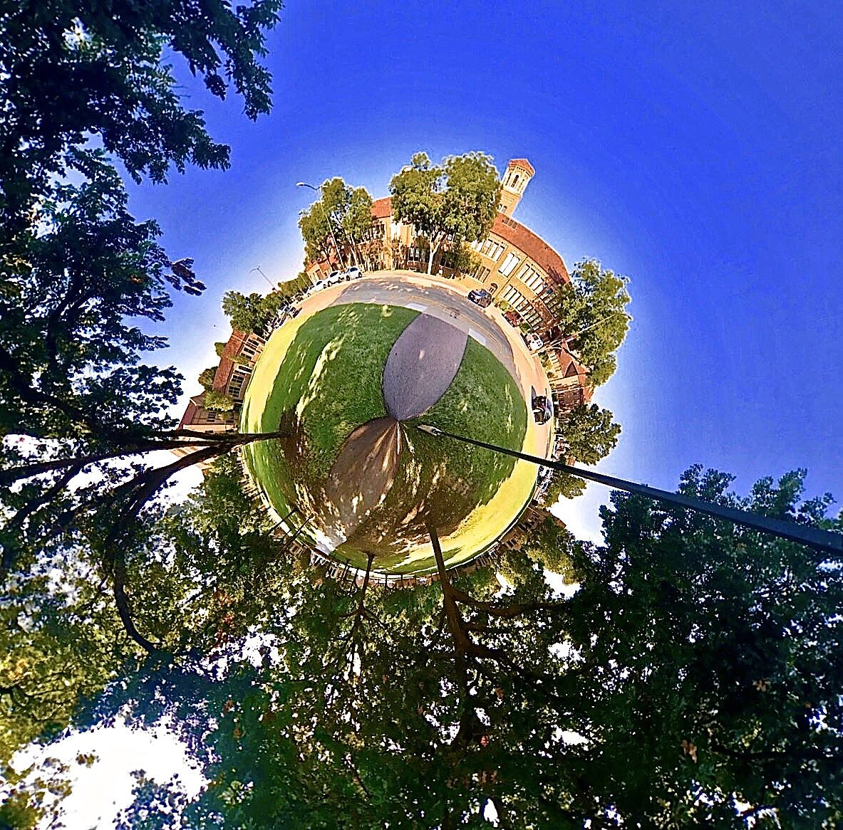Midwestern State University - Tiny Planet