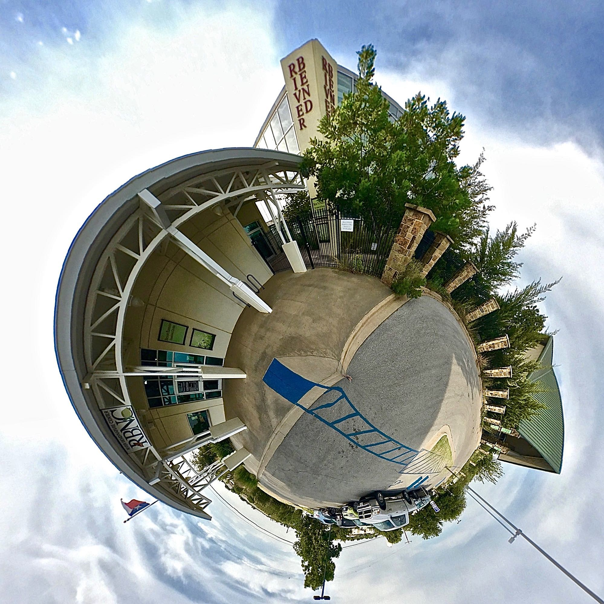 River Bend Nature Center - Tiny Planet
