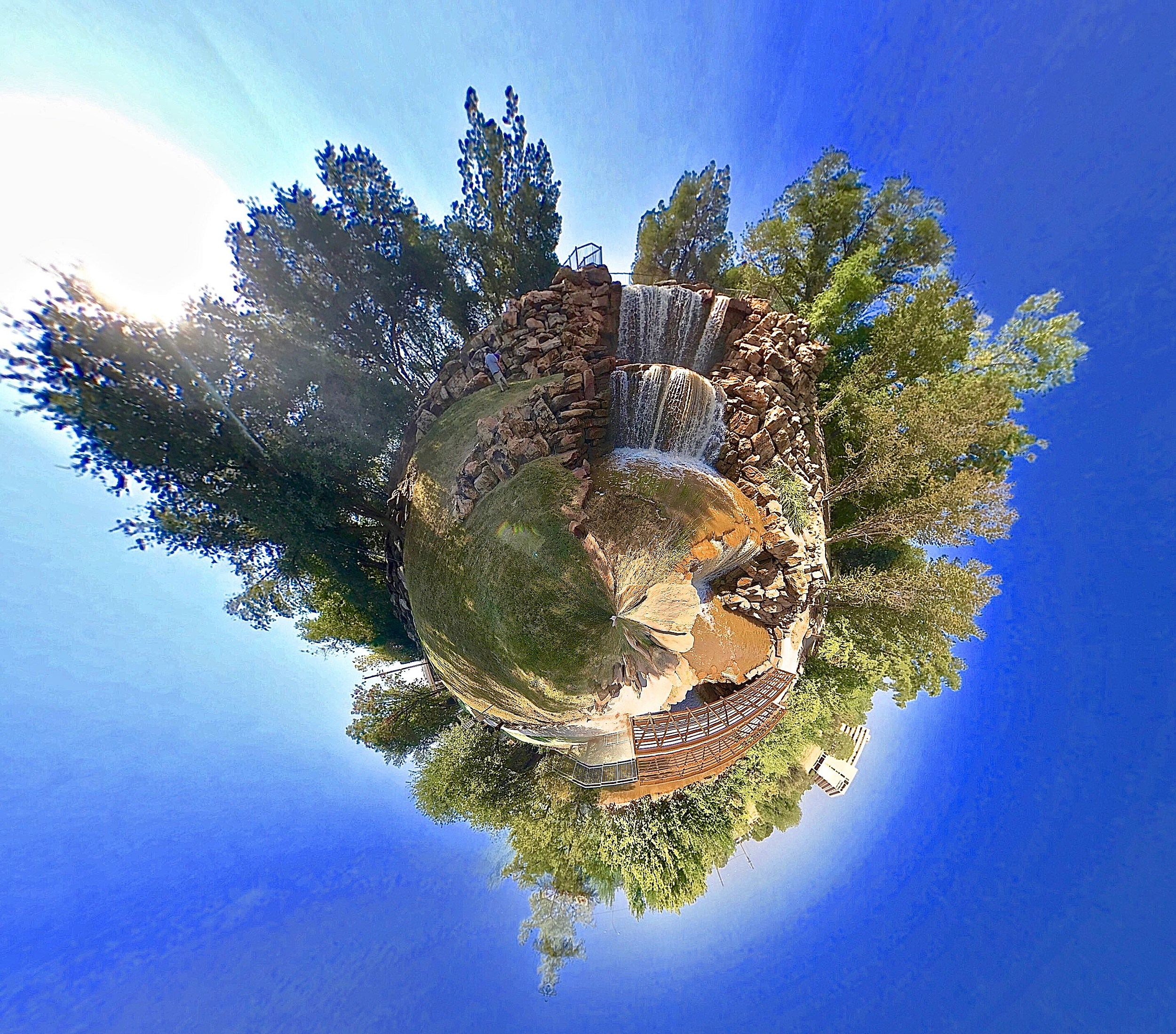 Tiny Planet Wichita Falls -  Aaron Galloway/Townsquare Media