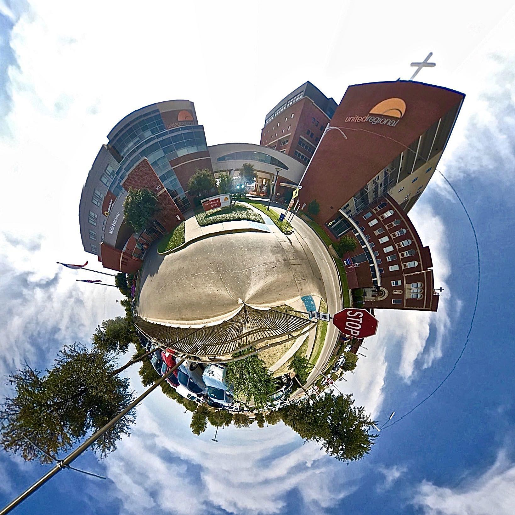 United Regional Hospital - Tiny Planet