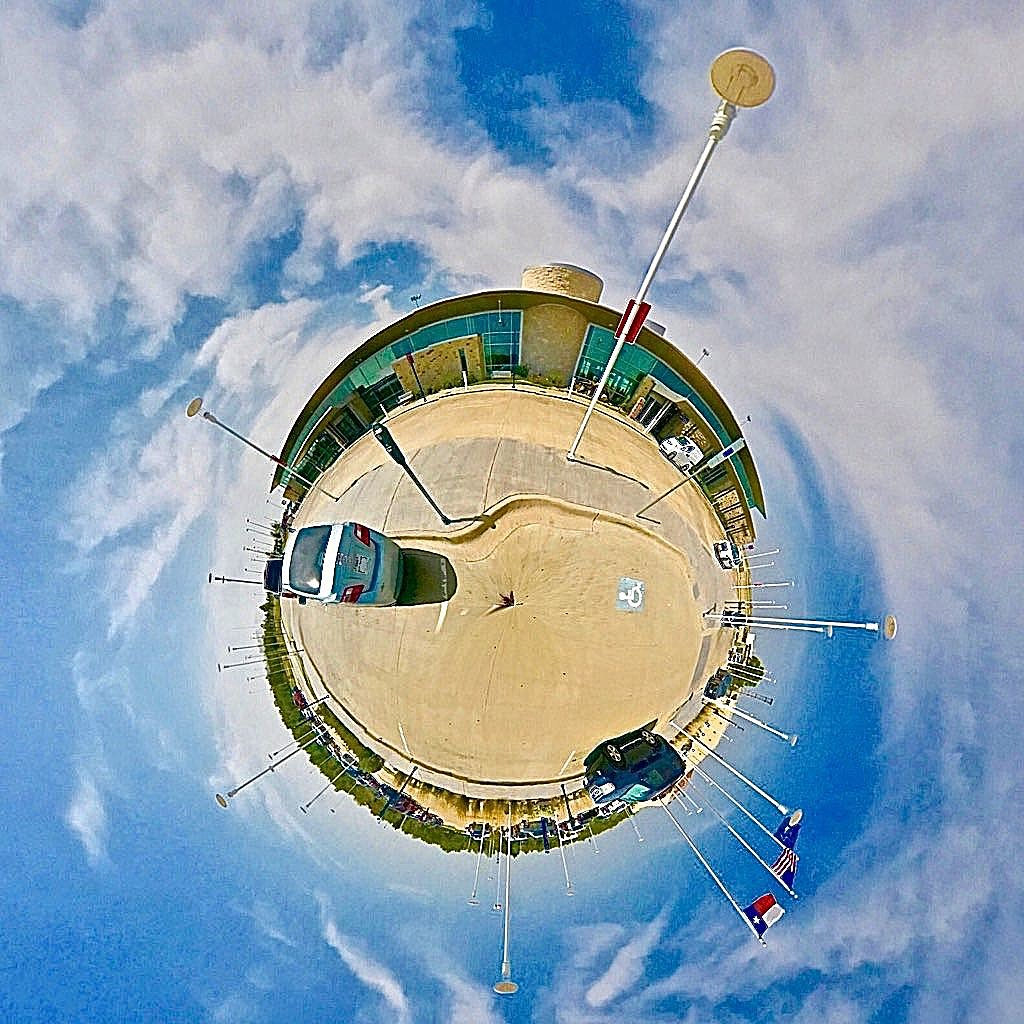 Wichita Falls Airport - Tiny Planet