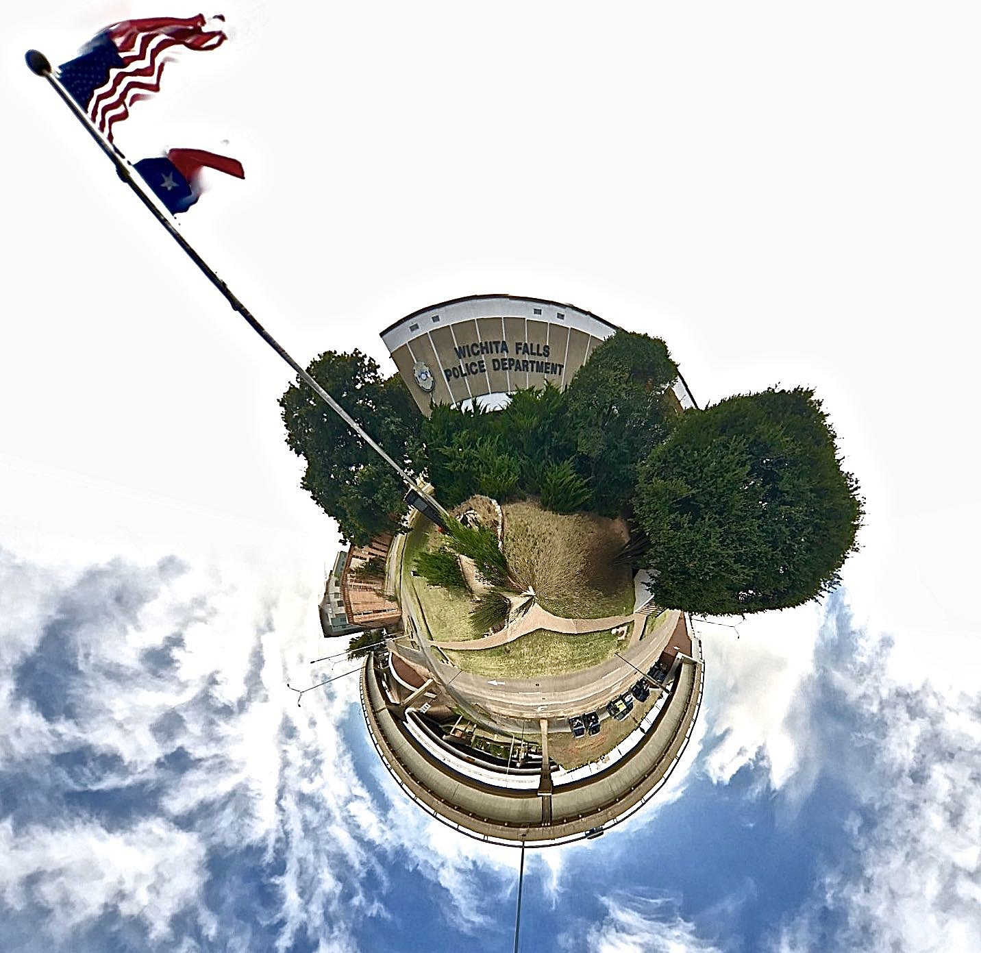 Wichita Falls Police Department - Tiny Planet