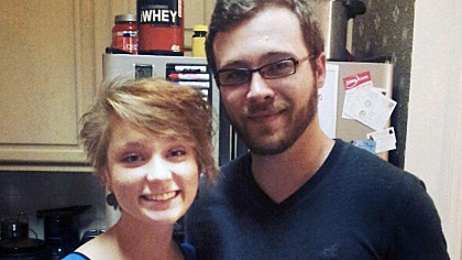 Shooting victim Meredith  Hight and the shooter, her estranged husband Spencer.  via Instagram