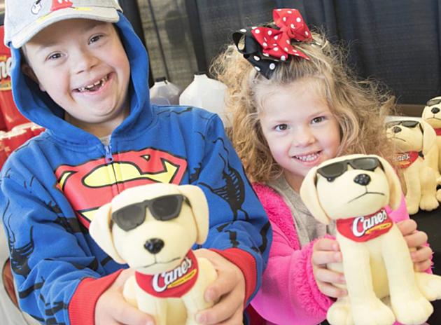 Kidd's Kids Day at Raising Cane's