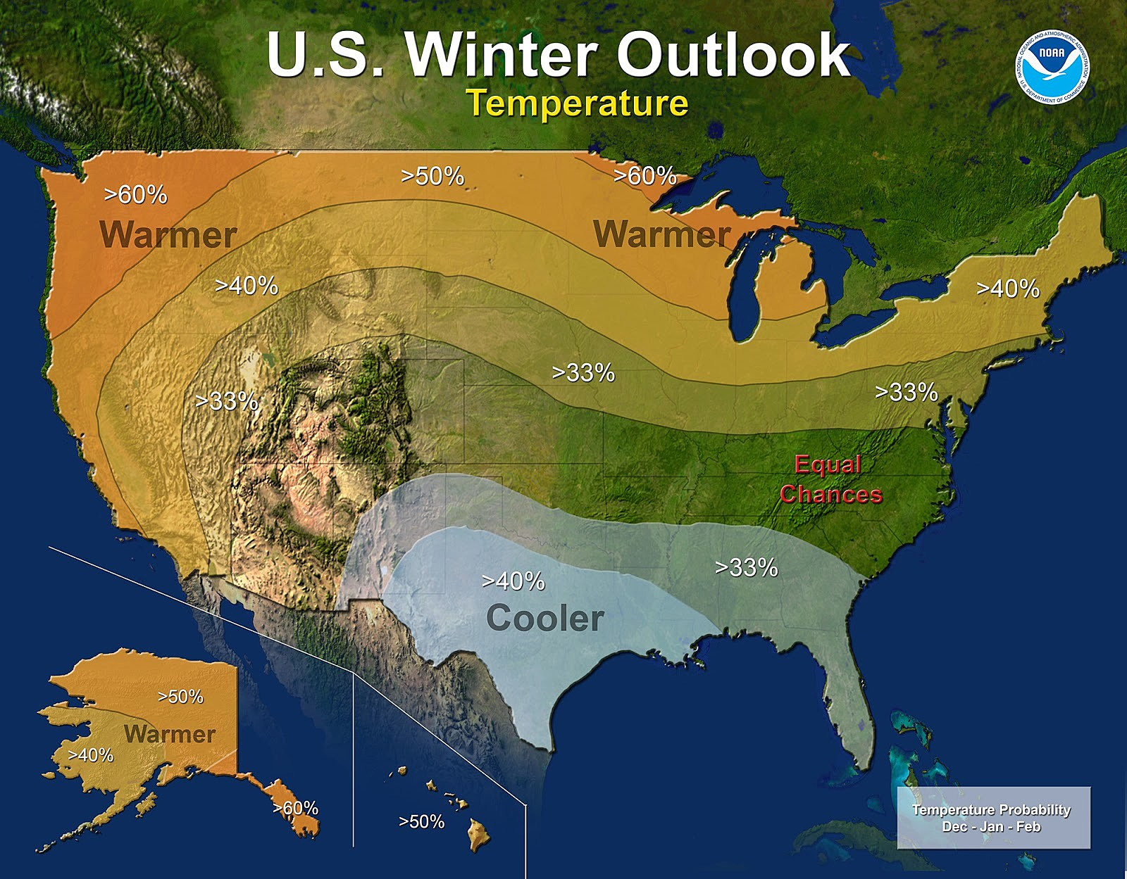 Colder, Snowier Than Usual Winter Predicted For Texas 2018-2019